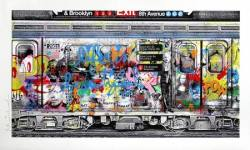Mr. Brainwash neue Grafik-Edition Chelsea Express.