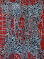 Farben der Wüste - Aboriginal Art im Teppichhaus Jordan