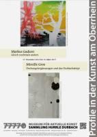 Markus Gadient | Mireille Gros: Profile in der Kunst am Oberrhein