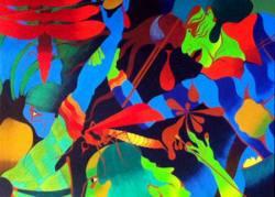 Said Tiraei - Malerei