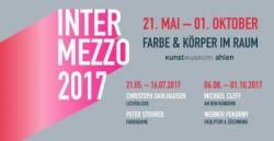 INTERMEZZO 2017: Farbe & Körper im Raum