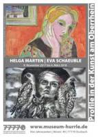 Profile in der Kunst am Oberrhein: Helga Marten | Eva Schaeuble
