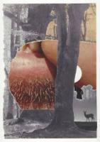 Einbrechende Idylle. Malerei und Papierarbeiten von Martin Bronsema.