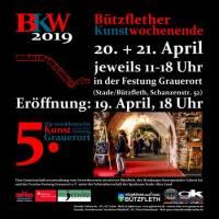 Ausstellung Bützflether Kunstwochenende V (Die norddeutsche Kunst zu Gast in der Festung Grauerort)