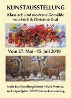 Kunstausstellung Klassisch & Moderne im Cafe Minerva