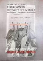 DIE DAUER DER GEFÜHLE - Ausstellung Koeln
