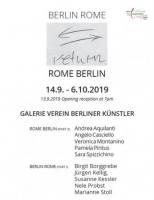 RETURN Rome-Berlin | Berlin-Rome