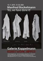 "40 Jahre Galerie Koppelmann Jubiläumsausstellung: ""Yes, we have done it!"""