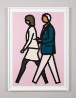 JULIAN OPIE NEW YORK COUPLE | GALERIE FLUEGEL |