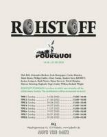 ROHSTOFF POURQUOI