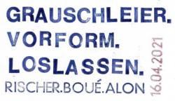 Schaufensterausstellung: GRAUSCHLEIER. VORFORM. LOSLASSEN. - Ausstellung Hamburg
