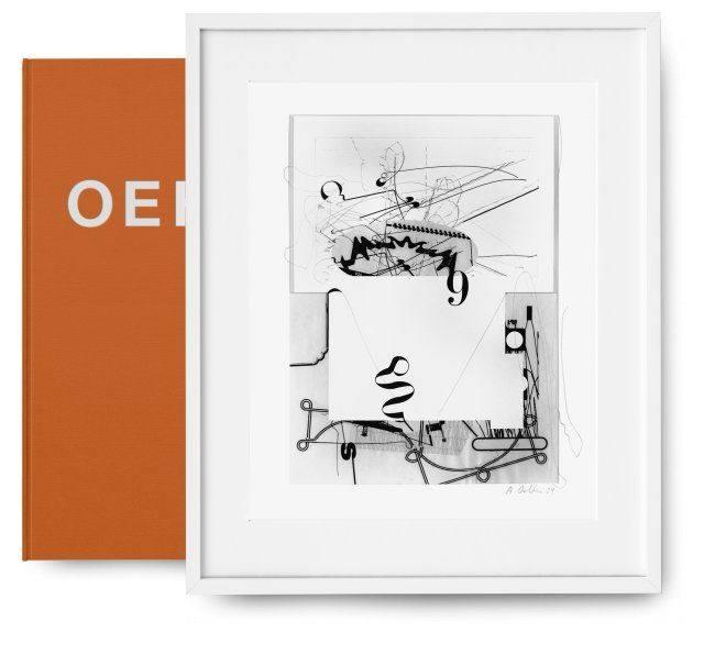 Albert Oehlen Art Edition Untitled