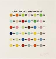 Grafik Damien Hirst Controlled Substance ...