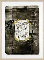 Grafik Antoni Tapies ´Scotch´ ...