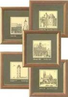 Hans Anthon Miniaturgraphiken Graphik