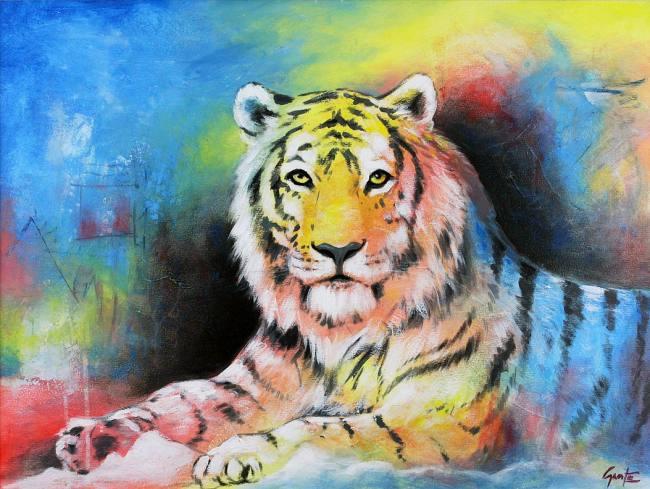 Erich Graf Neon Tiger