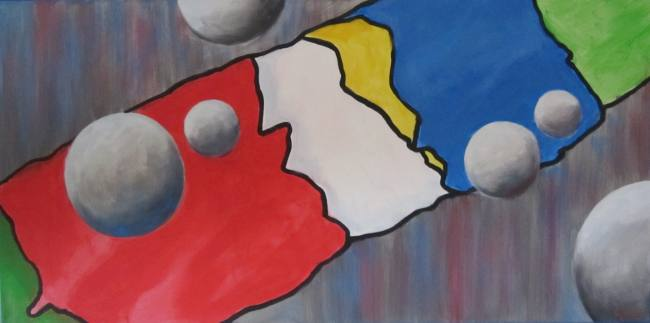 Erich Graf Coloured Universe I