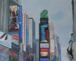 Gemälde Jasna Herger NY I ...