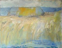 Gemälde Kerstin Göldner Alte Scheune ...