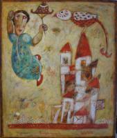 Gemälde Ashot Khachkalyan Ich komme zurück ...