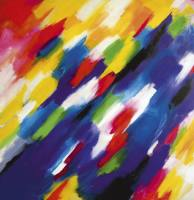 Gemälde Simone Kornfeld Farbgrenzen ...
