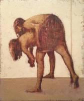 Gemälde Ostromuchov, Arkadij Der Wurf ...