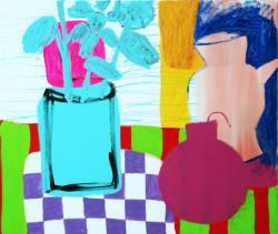 """Gemälde Peter Szalc """"Stilleben mit Bombe"""" ..."""