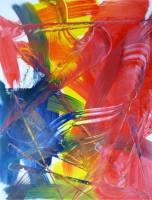 Rainer Gödde ohne Titel Malerei
