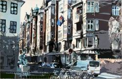 Møller-Matzen Strandgade Malerei