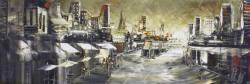Adnan Odeh Rainy Melbourne Malerei
