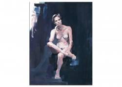 """Gemälde Marcin Marz Ölgemälde """"Act 163"""" ..."""