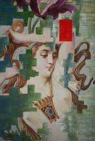 Gemälde Albert Weber FATA MORGANA  ...