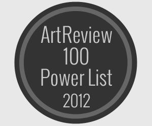 Artreview Top-100 Liste der einflussreichsten Personen in der Kunst 2012