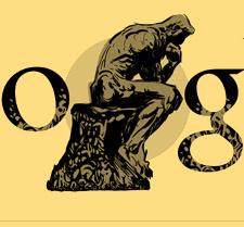 Doodle für Auguste Rodin zum Geburtstag
