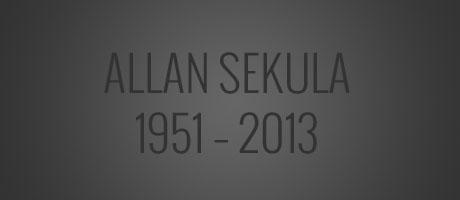 Fotograf Allan Sekula gestorben