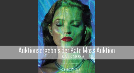 Kate Moss Auktion bei Christie