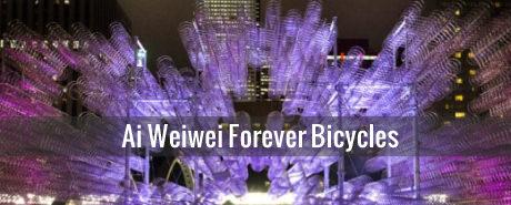 Ai Weiwei Installation aus 3144 Fahrrädern fasziniert Toronto