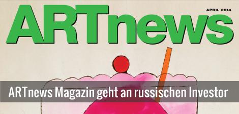 ARTnews Magazin von Skate Capital aufgekauft