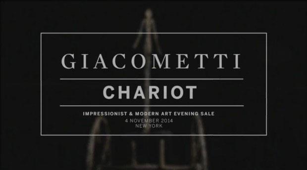 "Giacometti ""Chariot"" Skulptur erzielt 101 Millionen Dollar"