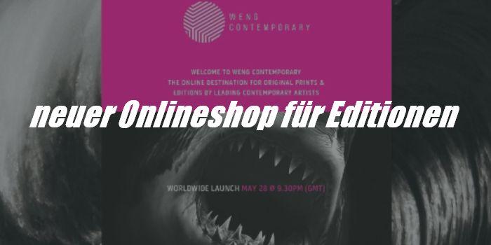 Weng Fine Art launcht Onlineshop für Kunsteditionen