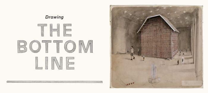 Drawing The Bottom Line - 53 Künstler und die Zeichnung in der Gegenwartskunst