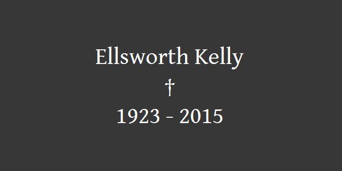 Künstler Ellsworth Kelly mit 92 Jahren gestorben