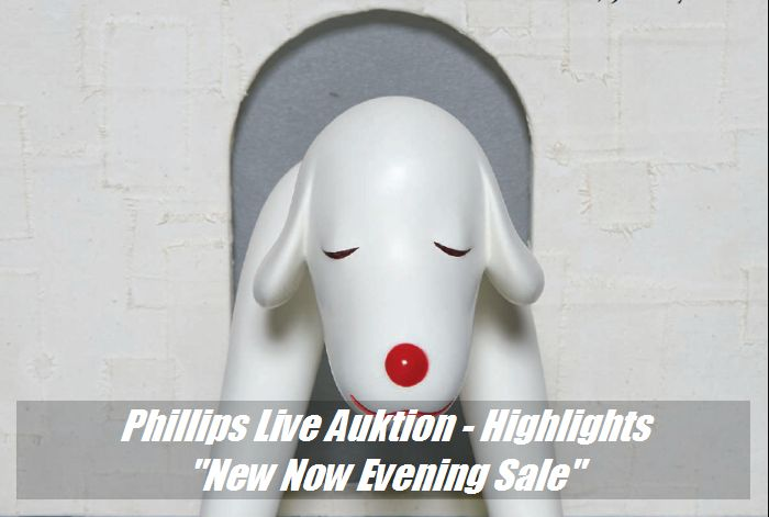 "Phillips Auktion - 9 Highlights der ""New Now"" Live-Aktion"