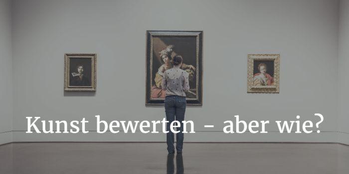Kunst bewerten - diese Formel könnte helfen