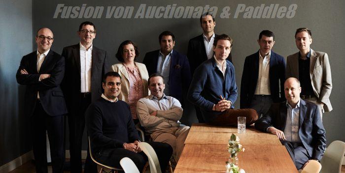 Fusion - Auctionata und Paddle8 schließen sich zusammen