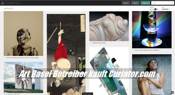 Art Basel Betreiber MCH-Group übernimmt Curiator.com Plattform