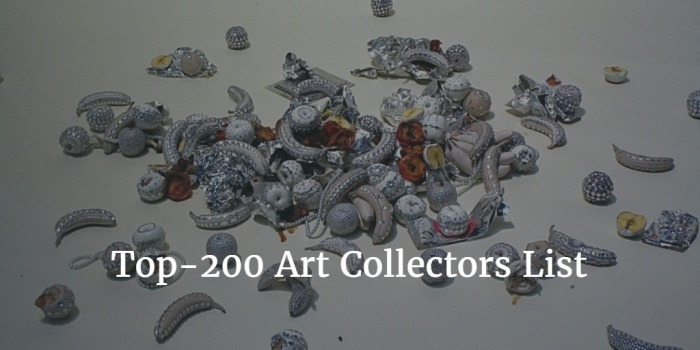 Top-200 Art Collector Ranking 2016 von Artnews
