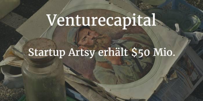 Online-Kunstmarktplatz Artsy erhält weitere 50 Millionen Dollar Finanzierung