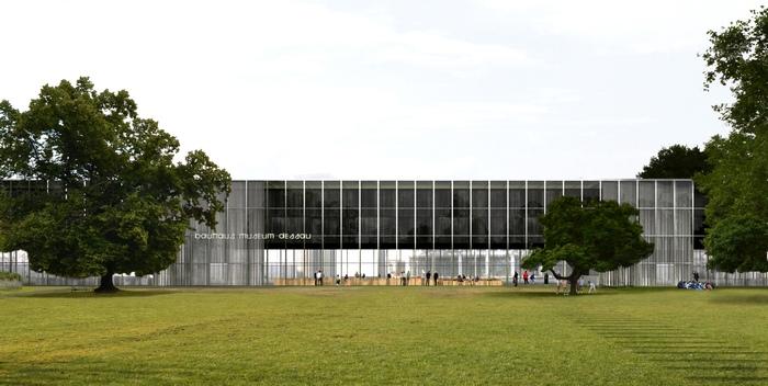 Eröffnung Bauhaus Museum - die Black Box von Dessau