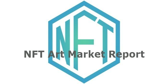 NFT Art Market Report - Kryptokunst plus 800% Umsatzanstieg